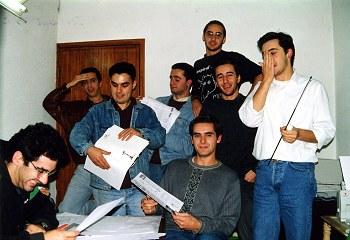 A Redacção do Buracozinho – 31 de Outubro de 1992
