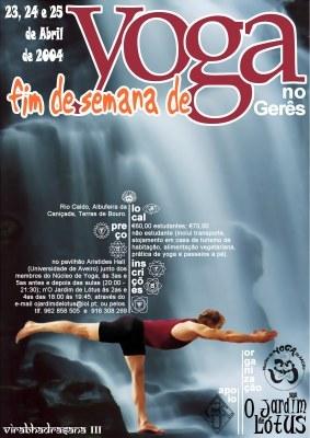 Fim de Semana de Yoga no Gerês